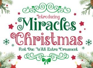 Miracles Christmas Font