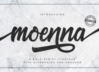 Moenna Font