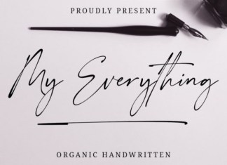My Everything Font