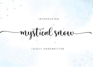 Mystical Snow Font