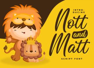 Nott and Matt Font