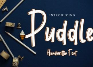 Puddle Font