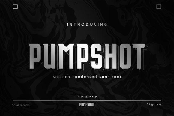 Pumpshot Font