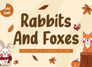 Rabbits and Foxes Font