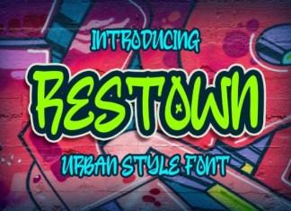Restown Font