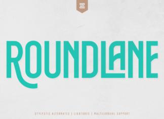 ROUNDLANE Font