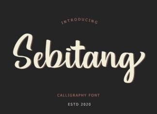 Sebitang Font