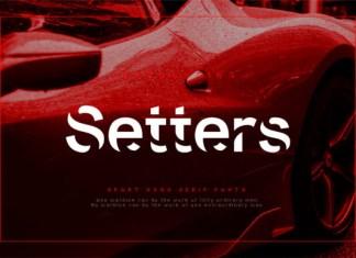 Setters Font