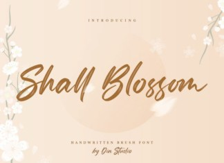 Shall Blossom Font
