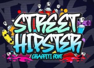 Street Hipster Graffiti Font