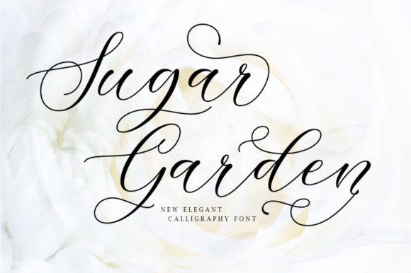 Sugar Garden Font