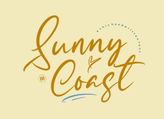 Sunny Coast Font