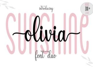 Sunshine Olivia Font