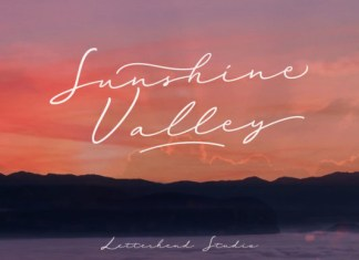 Sunshine Valley Font