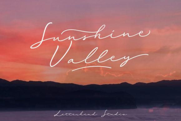 Sunshine Valley Font