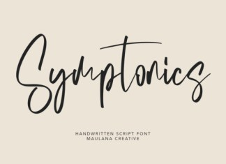 Symptonics Font