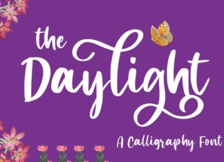 The Daylight Font
