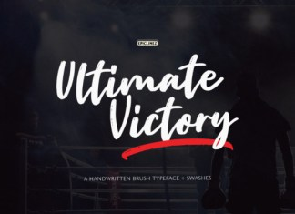 Ultimate Victory Font