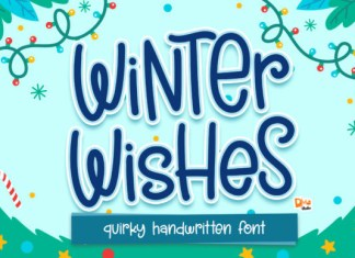 Winter Wishes Font