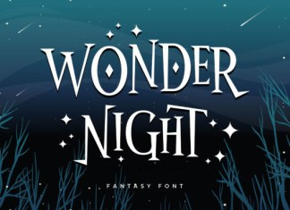 Wonder Night Font