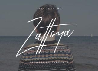 Zattoya Font