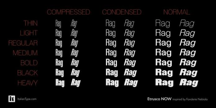 Etrusco Font