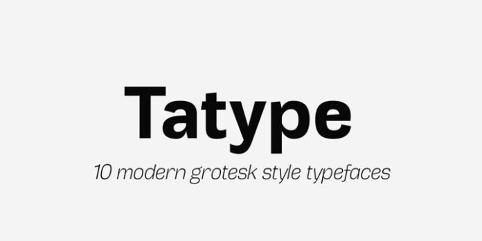 Tatype Font