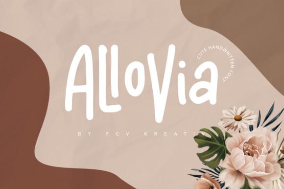 Allovia Font
