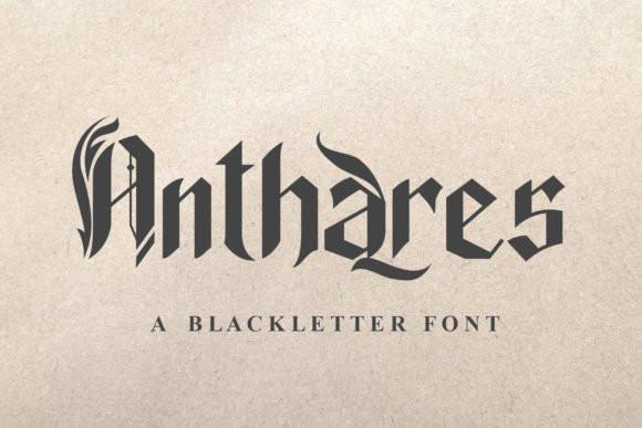 Anthares Font