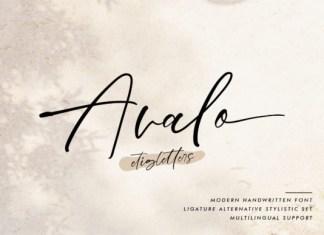 Avalo Font