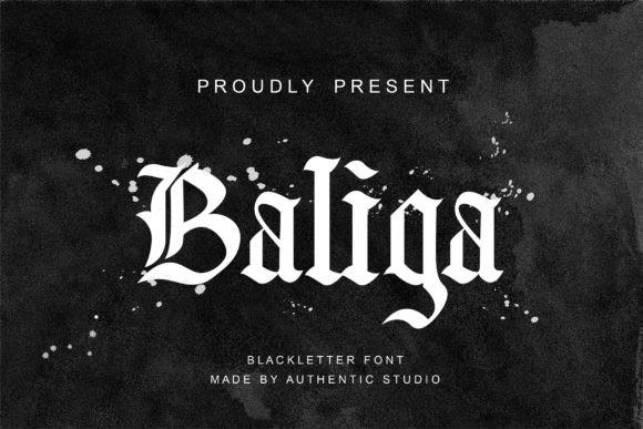 Baliga Font