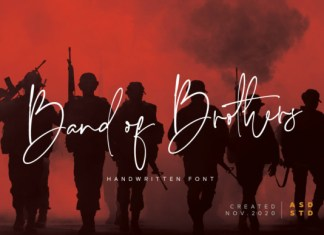 Band of Brothers Font