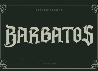 Barbatos Font