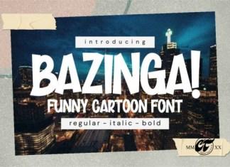 Bazinga Font