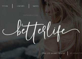 Betterlife Font