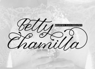 Betty Chamilla Font