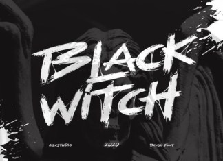 Black Witch Font