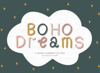 Boho Dreams Font