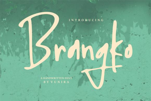 Brangko Font