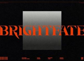 Brightfate Font