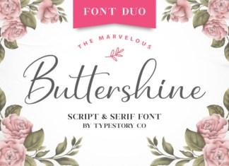 Buttershine Font