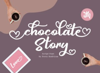 Chocolate Story Font