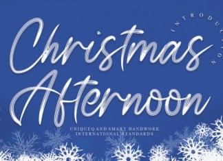 Christmas Afternoon Font