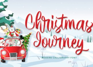 Christmas Journey Font