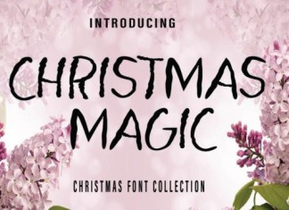 Christmas Magic Font