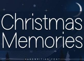 Christmas Memories Font