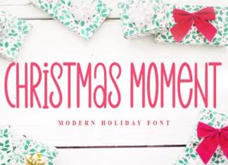 Christmas Moment Font