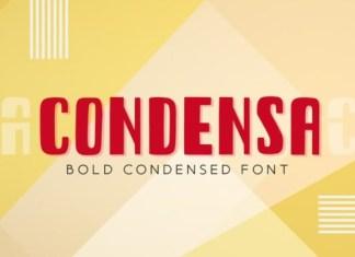 Condensa Font