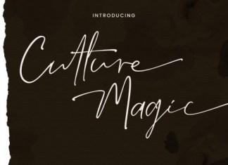 Culture Magic Font