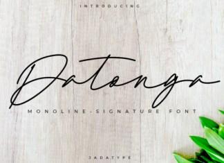 Datonga Font